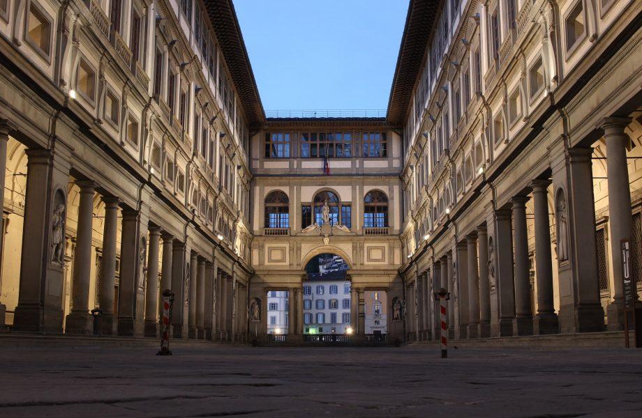visita galería de los Uffizi